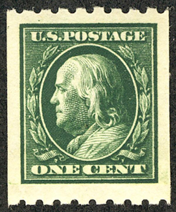 US #390 SCV $900.00 WOW! SUPERB JUMBO mint never hinged, paste up, HUGE GIANA...