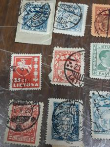 Lativa & Lithuania Stamps MNH & Used