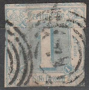 Thurn & Taxis #5  F-VF Used CV $22.50  (A16594)