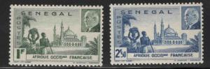 Senegal Scott 193-194 MH* set