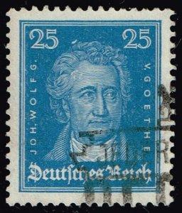 Germany #358 Johann Wolfgang von Goethe; Used (4Stars)