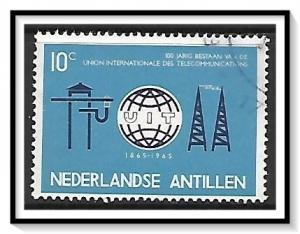 Netherlands Antilles #291 ITU Centenary Used