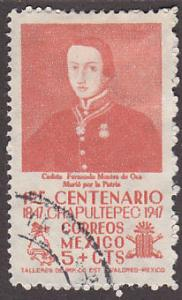Mexico 831 Hinged Used 1947 Cadet Francisco Marquez