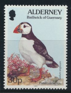 GB Alderney  SG A73 MNH   30p Puffin Birds  1994 SC# 83 See scan
