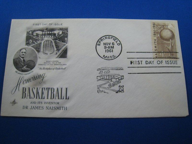 U.S. 1961 - SCOTT #1189   FDC -  BASKETBALL