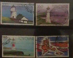 Faroe Island Scott #130-3