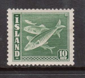 Iceland #221a VF Mint