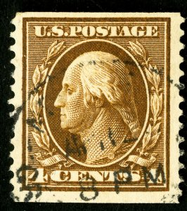 US Stamps # 354 Used F-VF Neat cancel Scott Value $275.00