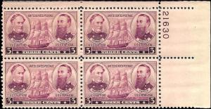 792 Mint,OG,NH... Plate Block of 4... SCV $1.60