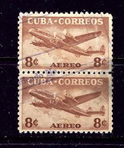 Cuba C75 Used 1953 Pair