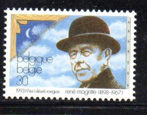 Belgium Sc 1501 1993 Masgritte stamp mint NH