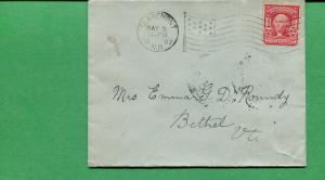 New Hampshire Cover - Claremont 1907 W/ AMF- B14  S8514