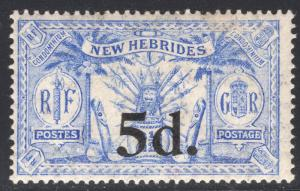 NEW HEBRIDES-BRITISH SCOTT 39
