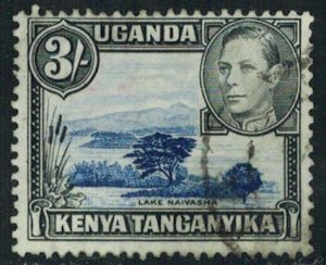 Kenya Uganda & Tanganyika Scott 82 Used.