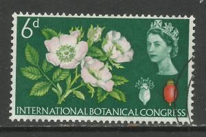 GB 1964 QE2 6d Botanical Congress SG 656 ( K400 )