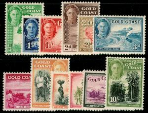 GOLD COAST SG135-146, 1948 COMPLETE SET, LH MINT. Cat £85.