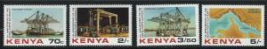 Kenya SC238-241 50th Anniv.Ports Authority MNH 1983