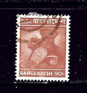Bangladesh 102 Used 1976 issue