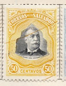 Salvador 1906 Issue Fine Mint Hinged 50c. 141487