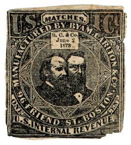 (I.B) US Revenue : Match Tax 1c (Byam Carlton & Co)