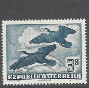Austria, C57, Great Cormorants Single, **Used** (LL2018) #2