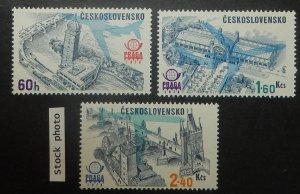 Czechoslovakia C83-88. 1976 International Philatelic Exhibition, NH