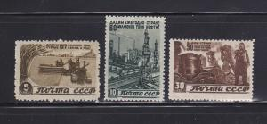 Russia 1075-1076, 1079 MHR Industry