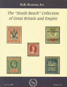 South Beach Collection of British Empire, H.R. Harmer, Sale 2987, June 6 2008