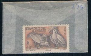 New Caledonia 278 Unused Birds Kagus (N0555)