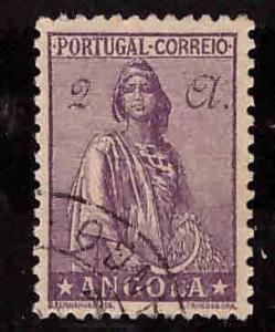 Angola  Scott 259 Used Ceres stamp from 1932-46 series