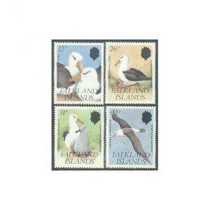 Falkland 526-529,MNH.Michel 529-532. Black-browed Albatross,1990.