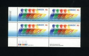 Canada #1805 Mint PB VF NH  1999 PD  2.00