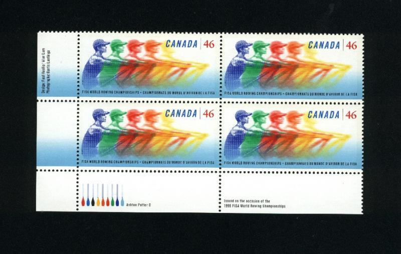 Canada #1805 Mint PB VF NH  1999 PD