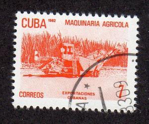 Cuba 2487 - Cto-nh - Agricultural Machinery / Exports (2)