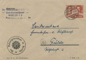 Germany Soviet Zone 24pf Karl Liebknecht and Rosa Luxemburg Anniversary 1949 ...