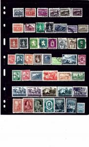 Bulgaria #2 47 M and U stamps few dups