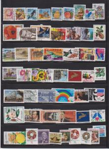 LOT OF DIFFERENT STAMPS OF USA USED (51) LOT#271