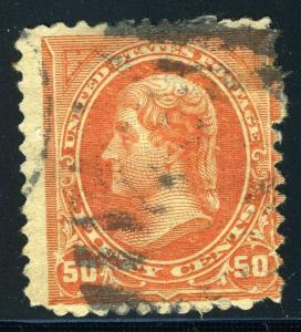 UNITED STATES SC# 260 JEFFERSON USED AS SHOWN