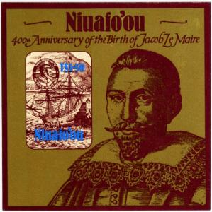 Niuafo'ou #55 1.50pa Jacob Le Maire 400th Birth Anniv.: - MNH Self Adhesive