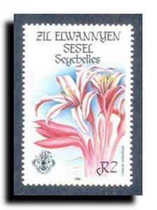 Seychelles-Zil Elwannyen Sesel Scott 122-125