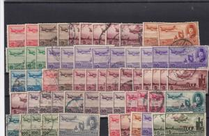 egypt vintage air stamps ref r9811