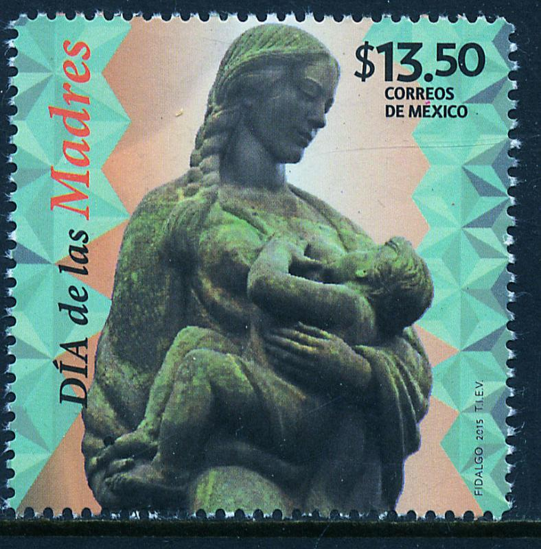 MEXICO 2934, Mothers Day, 2015. MINT, NH. VF.