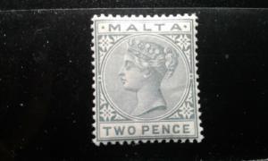 Malta #10 mint hinged e191.3421