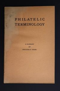 Philatelic Terminology glossary terms Stamp collector guide Chambers 1943 DM