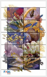 Stamps 2017 Caribbean Netherlands - Underwater World of St. Eustatius - Set.
