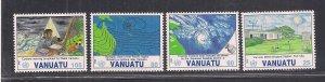 VANUATU SC# 565-68  FVF/MNH   1992