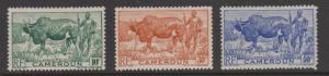 Cameroon Sc#304-306 MNG