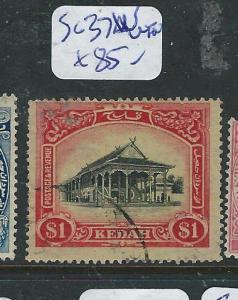 MALAYA KEDAH (P1205B) $1.00   SG 37W  VFU