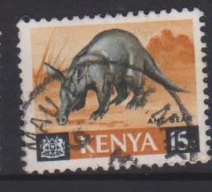 Kenya Sc#22 Used
