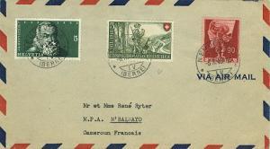 Switzerland 5c+5c Frontier Guard 1948 Por Patria Semi-Postal, 90c Standard Be...